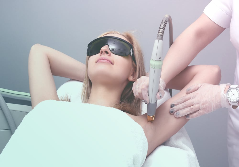 laser hair removal in Toowoomba